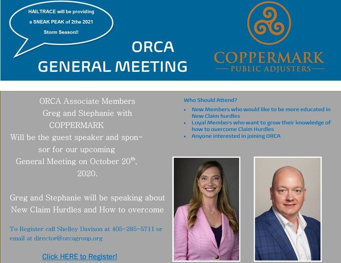 COPPERMARK General Meeting Flyer