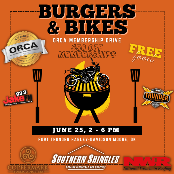 Burgers & Bikes ORCA Membership Drive